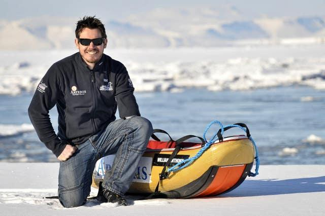 Former soldier Jaco Van Gass trekked to the North Pole in 2011 after suffering severe injuries while serving in Afghanistan
