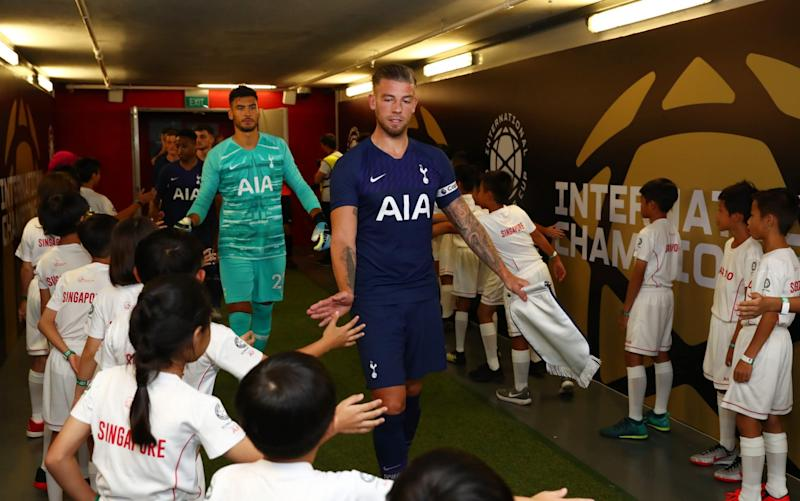 Toby Alderweireld was made him captain for Tottenham's 3-2 win over Juventus - Getty Images AsiaPac