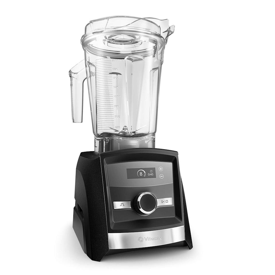 """<h2>18% Off Vitamix 5200 Blender Professional-Grade</h2><br>Vitamix blenders make a mean smoothie but cost a pretty penny. Score one of these professional-grade machines this Amazon Prime Day and save 18% off. <br><br><em>Shop</em> <strong><em><a href=""""https://amzn.to/3wESAqf"""" rel=""""nofollow noopener"""" target=""""_blank"""" data-ylk=""""slk:Vitamix"""" class=""""link rapid-noclick-resp"""">Vitamix</a></em></strong><br><br><strong>Vitamix</strong> A3300 Ascent Series Smart Blender, $, available at <a href=""""https://amzn.to/2SIItSA"""" rel=""""nofollow noopener"""" target=""""_blank"""" data-ylk=""""slk:Amazon"""" class=""""link rapid-noclick-resp"""">Amazon</a>"""