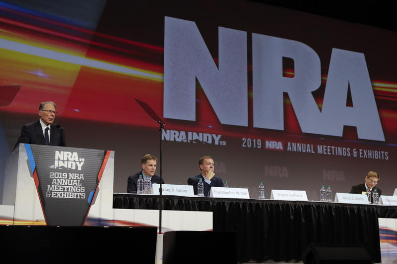 Another top NRA staffer departs amid upheaval