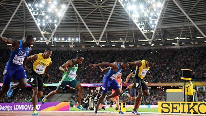 Bolt-conquering Gatlin's doping history casts shadow over remarkable achievement