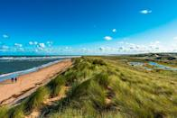 <p>The sandy stretch at Holkham Beach is backed by an expansive nature reserve with plenty of scenic walking trails where you can spot wild orchids and lavender. </p>