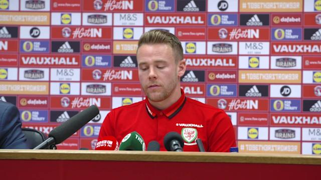 Speaking ahead of his side's World Cup qualification showdown with Ireland, defender Chris Gunter reflected on the improvement in Wales over the last three years.