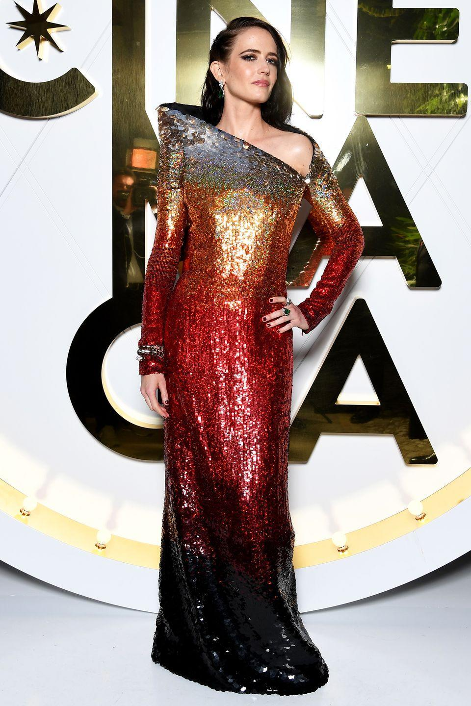 <p>Who: Eva Green </p><p>When: June 13, 2019</p><p>Wearing: Jean Paul Gaultier</p><p>Why: It looks like Eva Green also got the futuristic memo, because her gown at the Bvlgari Hight Jewelry Exhibition on in Capri, Italy was a glam take on <em>Star Trek</em>. Beam us up with her!</p>