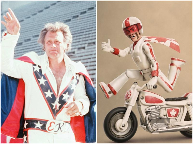 Evel Knievel estate sues Disney and Pixar over Toy Story 4 character Duke Caboom