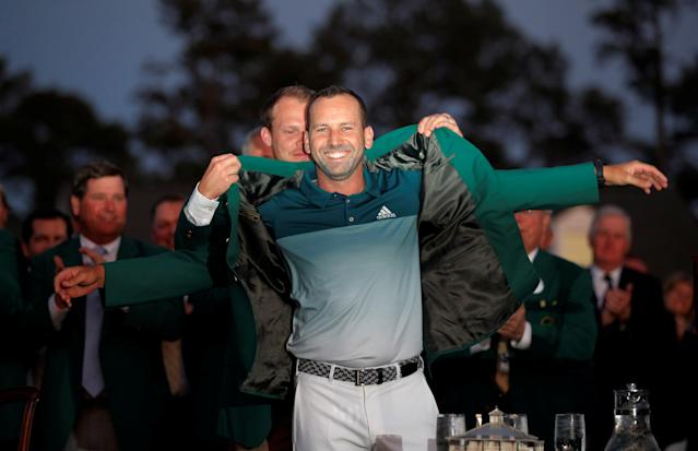 Masters 2017: How The Golfing World Reacted to Sergio Garcia's Long-Awaited First Major