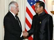 Tillerson's Thai stop spotlights North Korea ties