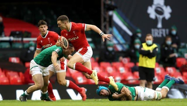 Wales are hoping George North will be fine to face Scotland