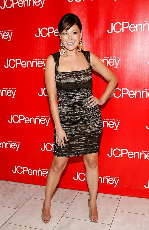 "We doubt any of Lindsay Price's ""Lipstick Jungle"" outfits came from the budget retailer. Mark Von Holden/<a href=""http://www.wireimage.com"" target=""new"">WireImage.com</a> - February 10, 2009"