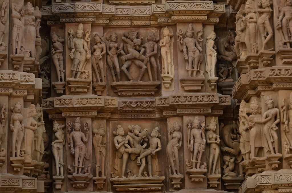 """<p><strong>Passion in stone: Khajuraho</strong> (<a title=""""Khajuraho temples"""" href=""""https://in.lifestyle.yahoo.com/photos/khajuraho-s-temples-of-love-slideshow/"""" target=""""_blank"""">More photos</a>)<br />Even the <a title=""""Khajuraho legends"""" href=""""http://in.lifestyle.yahoo.com/fall-in-love-with-khajuraho%E2%80%99s-legends-081743171.html"""" target=""""_blank"""">legends of Khajuraho</a> speak of the moon god who fell for the beauty of a local princess and seduced her while she was taking her bath. Khajuraho was ruled by scions born of this romance. No wonder the sculptures breathe passion. On a crisp winter morning, I soaked in the sensuous atmosphere of the town. Couples in stone are locked in a tight embrace, blissfully oblivious to the crowds staring at them. And it was one of the cleanest Indian towns that I had ever seen.</p>"""