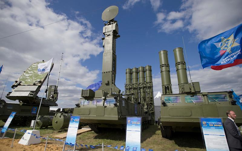 Russia's S-300 anti-aircraft missile system - Credit: Ivan Sekretarev/AP