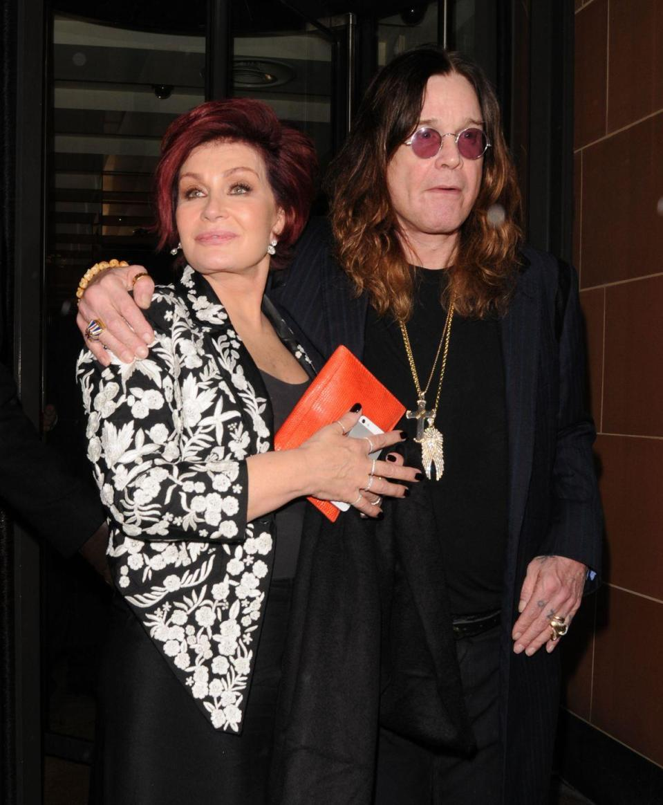 """<p>Ozzy went to rehab for sex addiction in 2016 after Sharon revealed he'd cheated on her with six women, reports <a href=""""https://people.com/music/sharon-osbourne-says-ozzy-cheated-with-six-women/"""" rel=""""nofollow noopener"""" target=""""_blank"""" data-ylk=""""slk:People"""" class=""""link rapid-noclick-resp""""><em>People</em></a><em>. </em>""""He had women in different countries,"""" she said. """"Basically, if you're a women giving Ozzy either a back rub or a trolley of food, God help you.""""</p><p>But Sharon reached her breaking point when she discovered he'd had a four-year relationship with his hairdresser. The couple split for a little while, and Ozzy went to sex addiction rehab. Then they re-united in 2016 and renewed the vows they first made in 1982.</p>"""