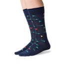 """<p><strong>Hot Sox</strong></p><p>hotsox.com</p><p><strong>$12.00</strong></p><p><a href=""""https://go.redirectingat.com?id=74968X1596630&url=https%3A%2F%2Fwww.hotsox.com%2Fproducts%2Fmens-golf-crew-socks-hm100107i%3Fvariant%3D29939220447296&sref=https%3A%2F%2Fwww.goodhousekeeping.com%2Fholidays%2Fgift-ideas%2Fg20685099%2Fgolf-gifts%2F"""" rel=""""nofollow noopener"""" target=""""_blank"""" data-ylk=""""slk:Shop Now"""" class=""""link rapid-noclick-resp"""">Shop Now</a></p><p>Patterned socks add personality to any outfit, but these golf crew socks particularly speak to Dad's favorite activity. They also come in green and are machine washable. </p>"""