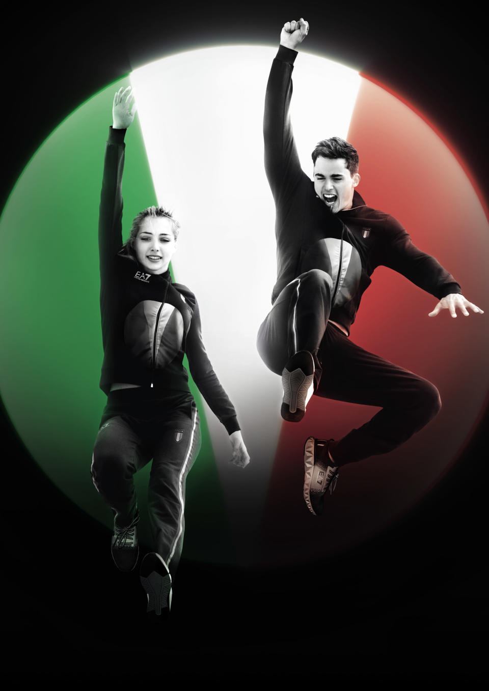 EA7 Emporio Armani outfits for the Italian Olympic team at the Tokyo Olympic Games. - Credit: Courtesy