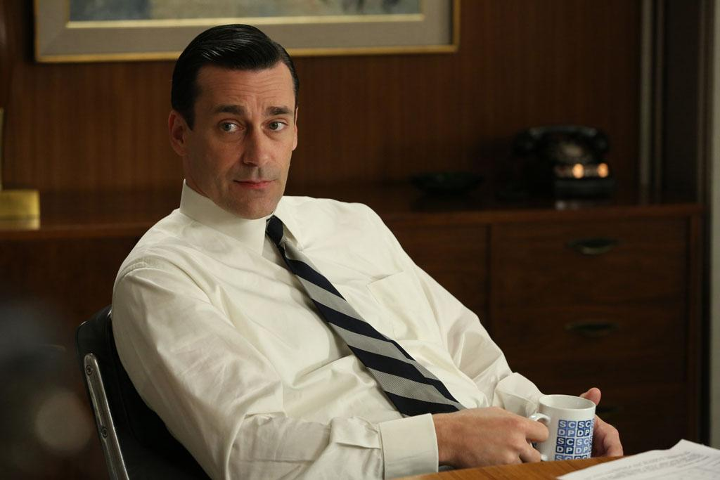 "Don Draper (Jon Hamm) in the ""Mad Men"" episode, ""The Better Half."""