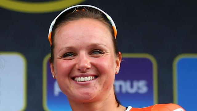 Having won the national road race title, Chantal Blaak added the world crown to her honours list in Bergen.