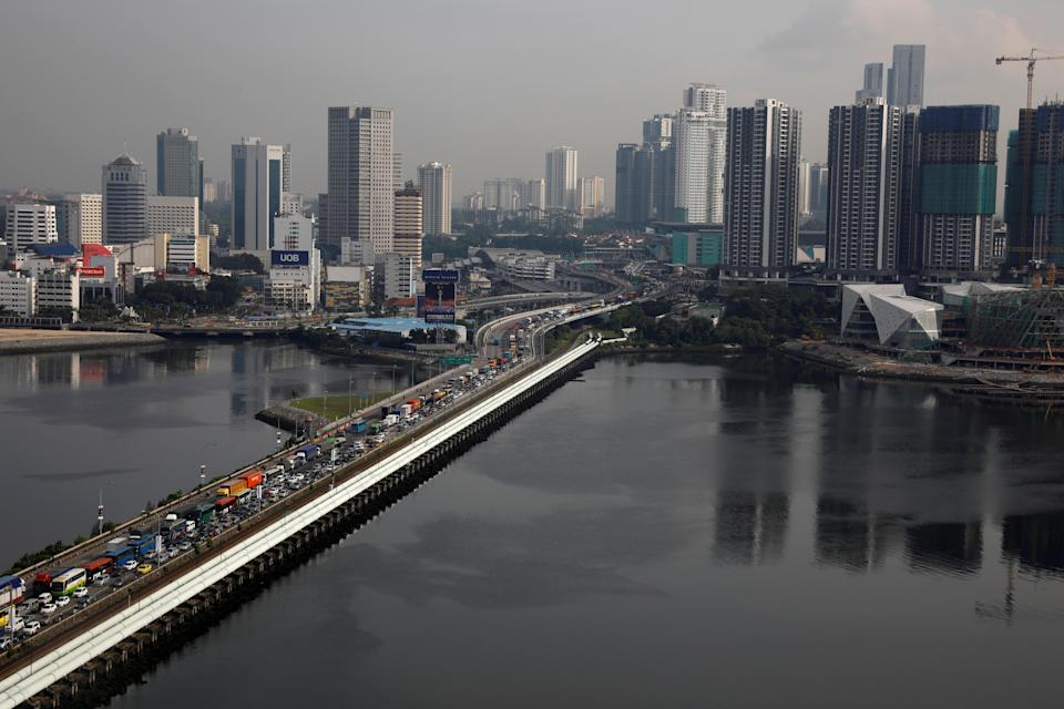 The Woodlands Checkpoint in Singapore. (File photo: Reuters/Edgar Su)