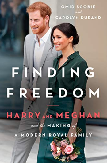 Princ eHarry and Meghan Markle Finding Freedom book cover