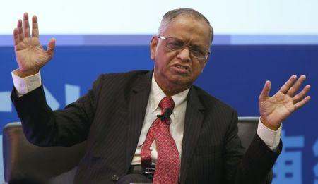 Murthy speaks at the Asian Financial Forum in Hong Kong