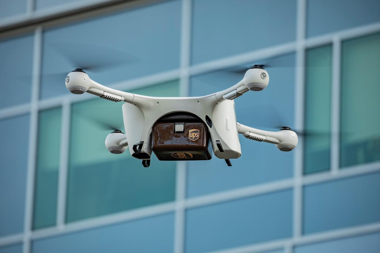 Matternet and UPS partners to deliver medical samples via unmanned drones at WakeMed's hospital in Raleigh, N.C. (Credit: UPS, Matternet)