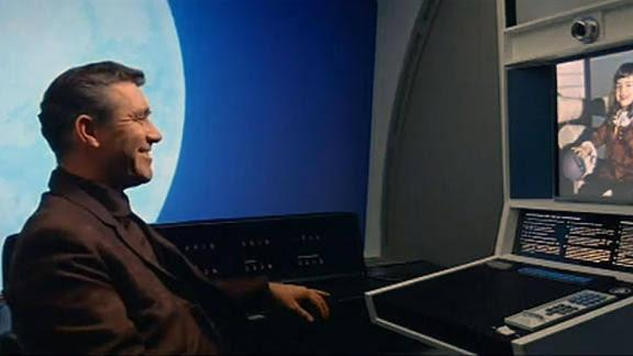 Video calling — '2001: A Space Odyssey,' 1968