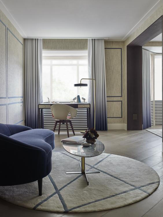 The Mayfair Project by Gunter & Co demonstrates the way a change in the direction of flooring can goad more light into darker spaces (Gunter & Co)
