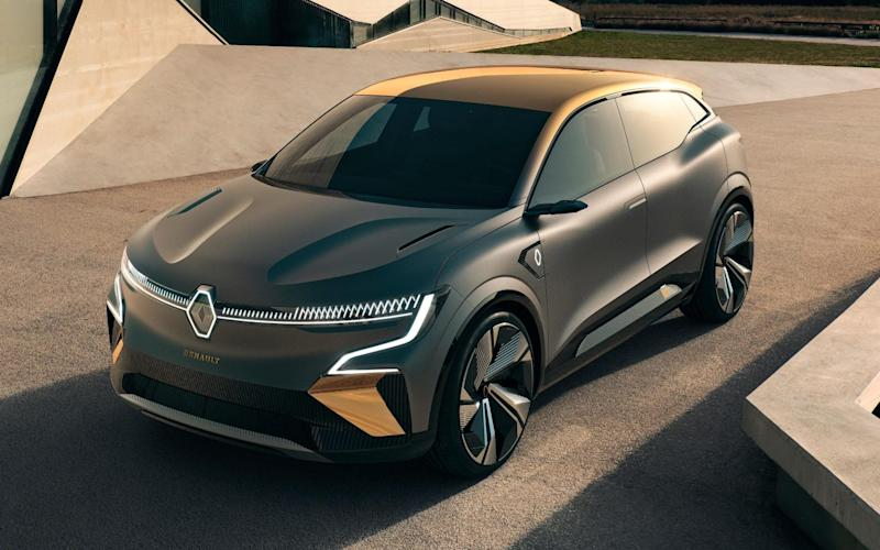 Renault unveils new electric car range
