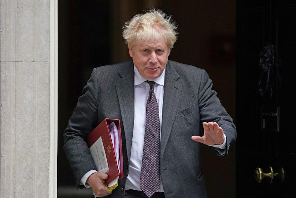 Boris Johnson has said relations with France remain 'rock solid' (Victoria Jones/PA) (PA Wire)