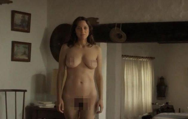 The actress strips off in the French film. Source: Why Not Productions