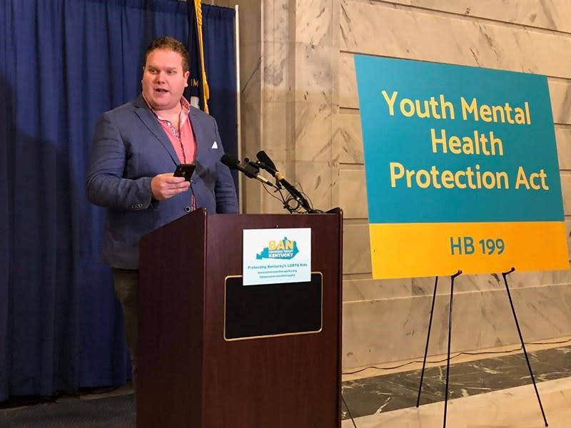 Bills seek to end 'conversion therapy' in Kentucky