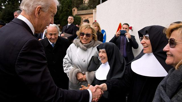 Biden Schmoozes With Nuns in Latest 'Being Biden' Audio