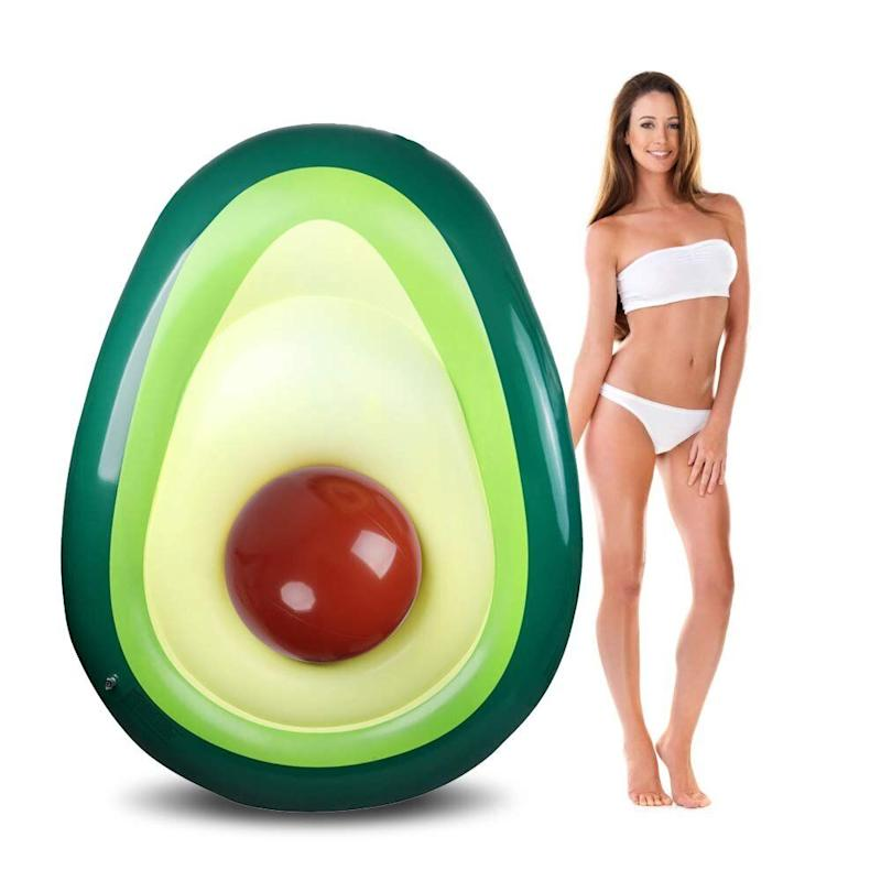 Felicigeely Avocado Pool Float (Photo: Amazon)