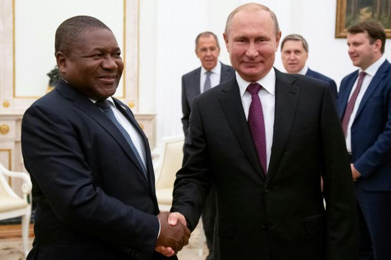 Russia has been looking to expand its influence in Africa and oil and gas producer Mozambique already signed a debt swap agreement with Moscow in 2017