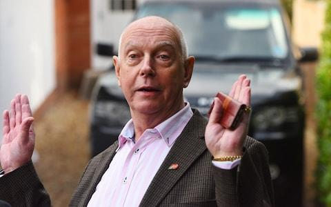 Greg Elsey is threatening legal action against Dorset Police - Credit: Solent News & Photo Agency