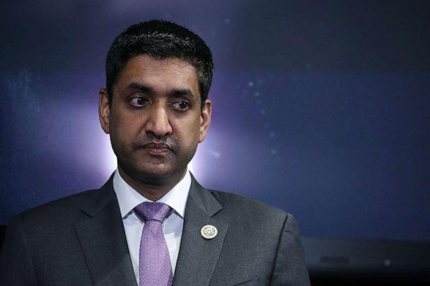PHOTO: Rep. Ro Khanna (R-CA) participates in a news conference to introduce the Ending Secrecy About Workplace Sexual Harassment Act in the U.S. Capitol Visitors Center, Dec. 18, 2017, in Washington, D.C. (Chip Somodevilla/Getty Images)
