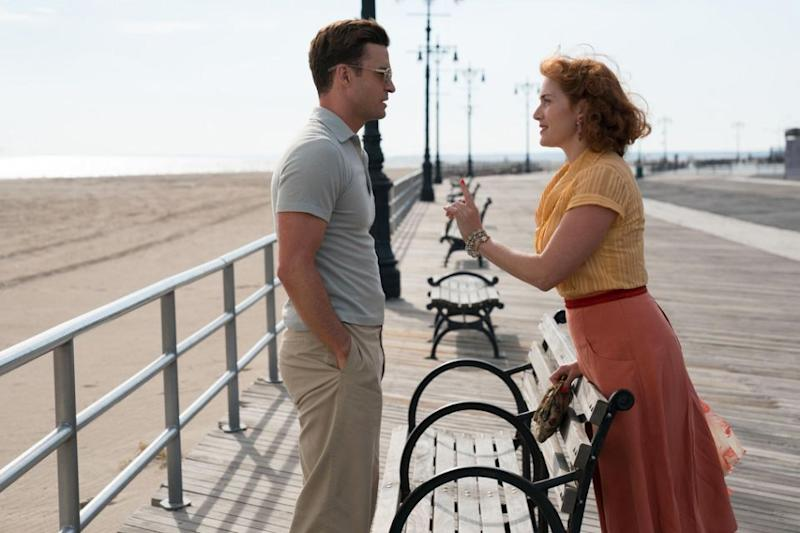 Woody Allen's new film, Wonder Wheel, starring Kate Winslet, did not receive a nomination. Source: Amazon Studios