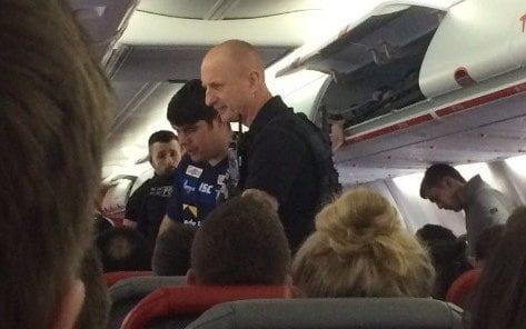 Police were called to reports of a rowdy stag party on board a Jet2 flight from Manchester to Prague - Manchester Evening News