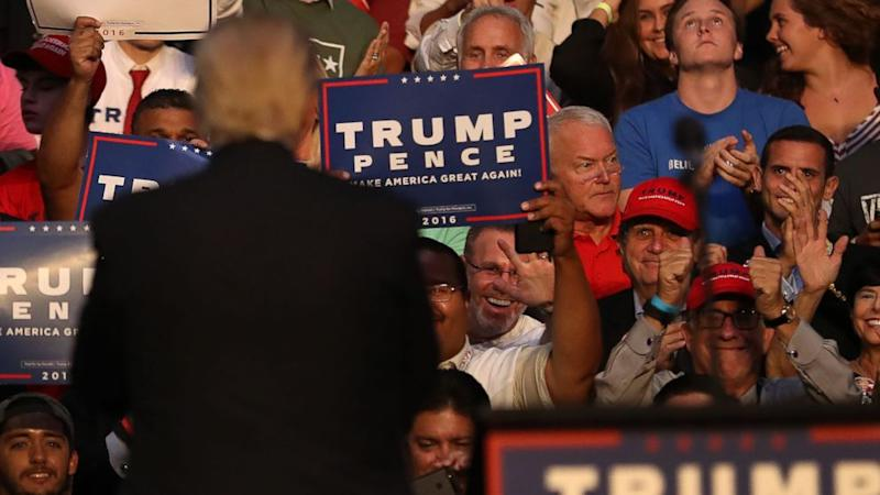 Disgraced Former US Rep. Mark Foley Spotted at Trump Rally