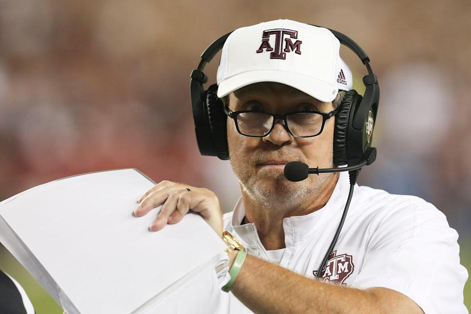 Texas A&M announced a contract extension for coach Jimbo Fisher on Sept 1., bumping his pay from $7.5 million this year to $9 million in 2022.