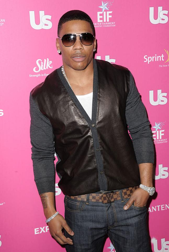 "Nelly was honored for his efforts to increase bone marrow donations at the event. ""The same thing that makes you sick, makes me sick,"" the rapper told ""Entertainment Tonight,"" adding, ""The same thing that can cure you can cure me, so we all have to work together."" Jordan Strauss/<a href=""http://www.wireimage.com"" target=""new"">WireImage.com</a> - November 18, 2010"