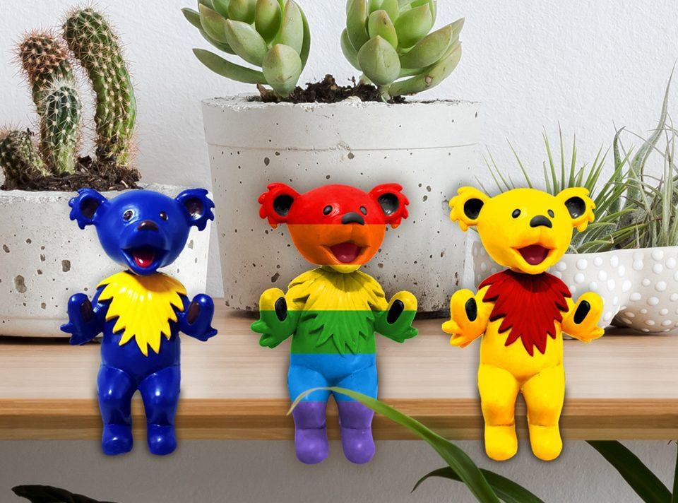 grateful dead bobblehead bears