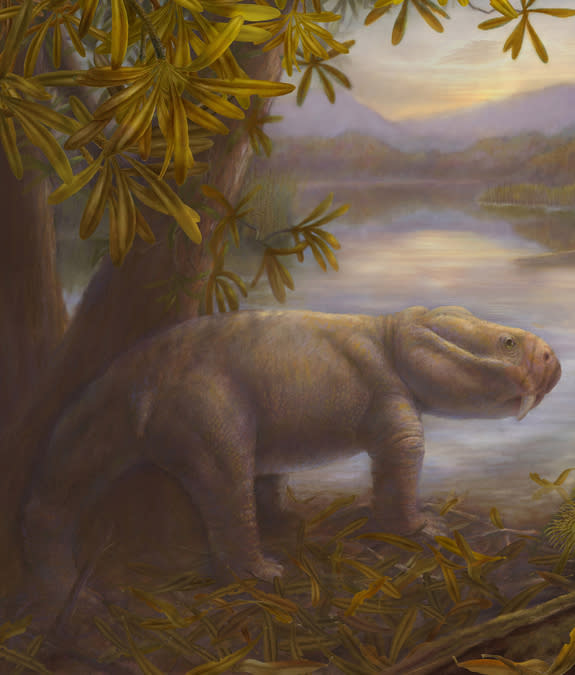 Weird Dino Ancestors Boomed After Mass Extinction