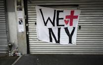 Nearly two decades after Manhattan's Twin Towers fell in the deadliest attack on US soil, the coronavirus pandemic is once again testing the resilience of New Yorkers