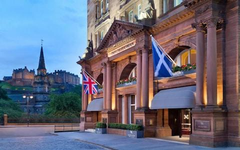 waldorf astoria hotel, edinburgh