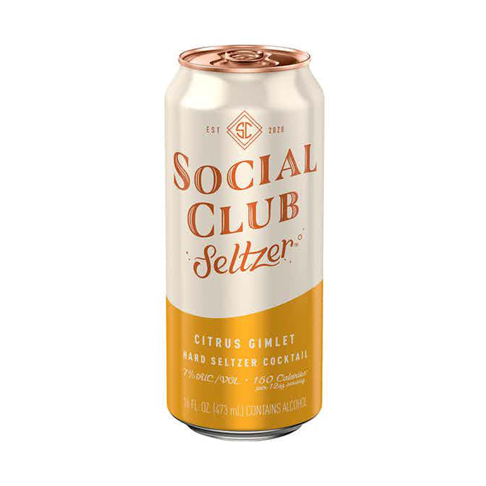 """<p>drizly.com</p><p><a href=""""https://go.redirectingat.com?id=74968X1596630&url=https%3A%2F%2Fdrizly.com%2Fbeer%2Fspecialty-beer-alternatives%2Fhard-seltzer%2Fsocial-club-seltzer-citrus-gimlet%2Fp104180&sref=https%3A%2F%2Fwww.cosmopolitan.com%2Ffood-cocktails%2Fg36596713%2Fbest-hard-seltzers%2F"""" rel=""""nofollow noopener"""" target=""""_blank"""" data-ylk=""""slk:BUY IT HERE"""" class=""""link rapid-noclick-resp"""">BUY IT HERE</a></p><p>I wish this was a little less citrusy and more loyal to the original flavors of a Gimlet cocktail. Still, it's a worthy alternative if you don't feel like whipping out your shaker.<br><strong><br>Crushability:</strong> 3<strong><br>Craveability:</strong> 2.5<strong><br>Creativity: </strong>3<strong><br>Overall:</strong> 8.5<br><strong><br>Calories: </strong>150<strong><br>Sugar:</strong> 2g<strong><br>ABV:</strong> 7%</p>"""
