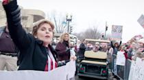 """<p>This documentary focuses on both the public and private life of the country's highest-profile women's rights attorney, Gloria Allred, who is best known for taking on Bill Cosby and <a class=""""link rapid-noclick-resp"""" href=""""https://www.popsugar.com/Donald-Trump"""" rel=""""nofollow noopener"""" target=""""_blank"""" data-ylk=""""slk:Donald Trump"""">Donald Trump</a>. The film makes a persuasive case for Allred's skill and influence, attempting to dispel her many detractors and haters (who are not just right-wing members of misogynist media).</p> <p>Watch <a href=""""http://www.netflix.com/title/80174367"""" class=""""link rapid-noclick-resp"""" rel=""""nofollow noopener"""" target=""""_blank"""" data-ylk=""""slk:Seeing Allred""""><strong>Seeing Allred</strong></a> on Netflix now.</p>"""