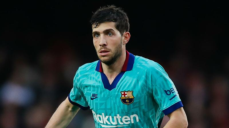 Talk of Man City raid for Sergi Roberto rubbished by agent of Barcelona star