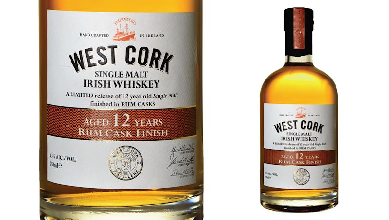 West Cork Distillers New Irish Whiskey Touts a Touch of the Caribbean