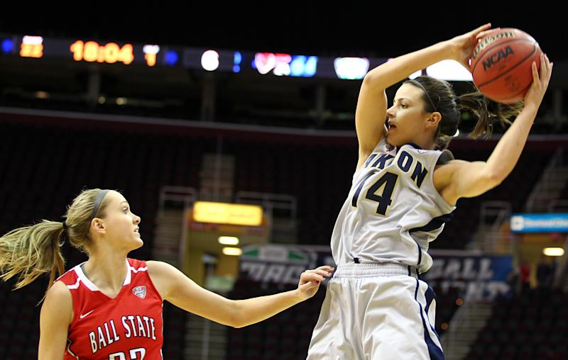 Akron wins first MAC title, 79-68 over Ball State