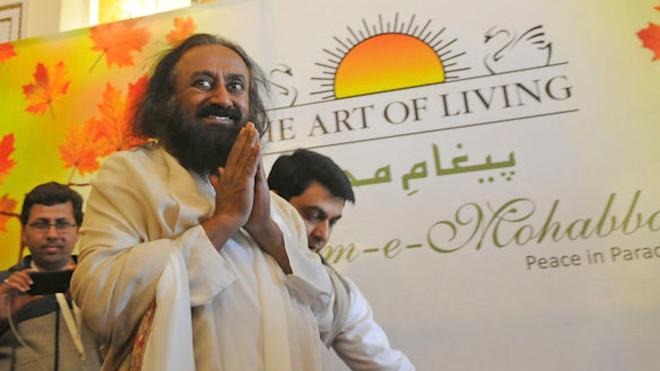 World-renowned humanitarian, spiritual leader and Art of Living founder Sri Sri Ravi Shankar, who spoke with Yahoo Life. (Photo: Getty Images)
